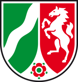 ÖbVI Wolfram Reinhardt - NRW-Wappen