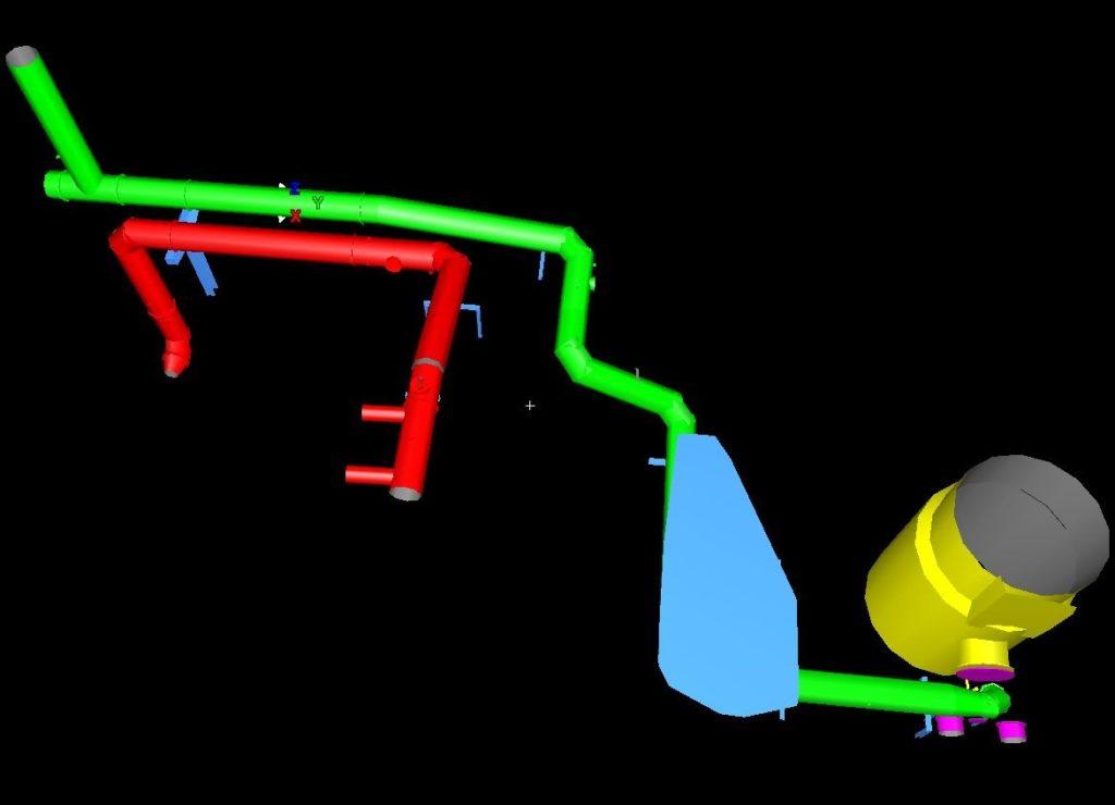 3D-Modellierung von Rohrleitungen